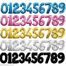 Qualatex All Occasions Number Party Balloons