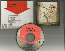 Aaron Lewis STAIND 2005 Ultra Rare 3 Track SAMPLER PROMO DJ CD Single USA Seller