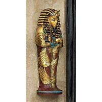 "Egyptian Decor King Tut 12"" Icon of Egypt Wall Sculpture"