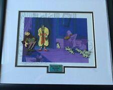 Disney 40th Anniversary 101 Dalmatians Puppies Cruella Sgt. Tibbs Framed Pin Set