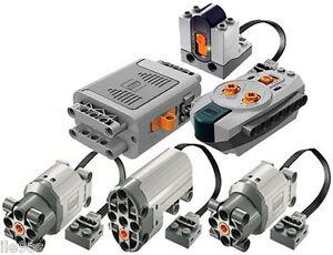 Lego Power Functions SET 5   (technic,motor,receiver,remote,l,servo,crawler,box)