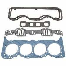 Edelbrock 7378 Engine Gasket Set (Head/Intake/Exhaust/Valve Cover), For Chevy