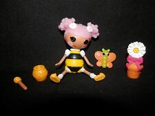 """Blossom Flowerpot """"Blossom's a Busy Bee"""" Mini Lalaloopsy Doll w / Pet Complete"""