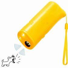 New listing Ultrasonic Dog Repeller, Electronic Anti Barking Stop Bark Handheld 3 in 1 Pet D