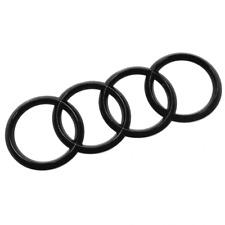 Original Audi Zeichen schwarz Heckklappe 8U0853742B T94