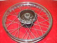 Ruota Posteriore Wheel Roue Bordo Buono Conservata Yamaha DT80LC2 Dt 80 LC2