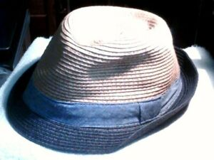 Boys The Children's Place  Fedora Straw Hat Sz L/XL