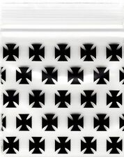 "Ziplock Baggies 2020 Apple 100 Mini ZIPLOCK Bags PRINTED Design 2"" X 2""(CHOPPER)"