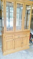 China Cabinet Hutch - Dining - Lighted w/ glass