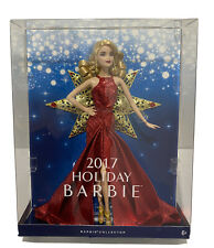 PINK LABEL 2017 HOLIDAY BARBIE DOLL. NRFB.