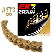 EK 520SRX2 Gold Off Road QX-Ring Motorcycle Chain (Clip Master) - 120 Links