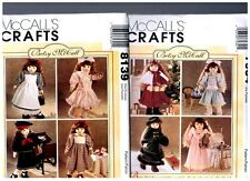 """2 Betsy McCall s OOP PATTERNS 7934 & 8139 Doll Clothes Fits 18"""" American Girl"""
