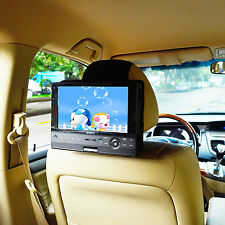 Car Headrest Mount Holder For 10inchSwivel&Flip Style Portable DVD Player by TFY