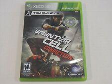 Splinter Cell Conviction - Microsoft Xbox 360 - Complete in Box CIB
