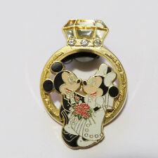 Disney Diamond Ring (Mickey & Minnie) Pin