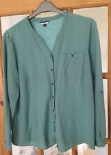 Dash Long Sleeved Blouse/overshirt Size 16