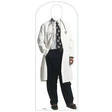 DOCTOR Lifesize STAND-IN CARDBOARD CUTOUT Standin Standup Standee Doc FREE SHIP