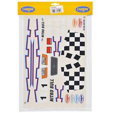 Decal Sheets 1:10 Nitro Bull Decore Sticker Stadium Truck Monster Carson 69159