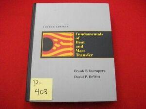 FUNDAMENTALS OF HEAT AND MASS TRANSFER BY FRANK P. INCROPERA &  DAVID P. DeWITT
