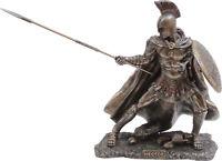 Hector Greek Mythology Hero Warrior Cold Cast Bronze Statue Sculpture 21cm/8.46'