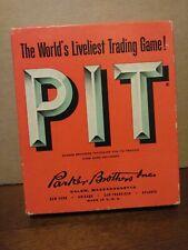 Vintage 1959 Pit bull & bear Card Game Parker Bros. Complete