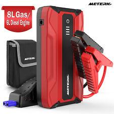 18000mah Car Jump Starter Booster Jumper Box Power Bank Battery Charger Us M9q1