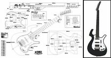 Parker Nitefly® Electric Guitar Plan