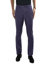 BURBERRY Pantalone uomo in cotone regular con taglio tasche americane PROMO