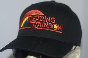Reading Rainbow Hat Levar Burton Baseball Cap PBS Kids Mister Rogers Sesame Stre