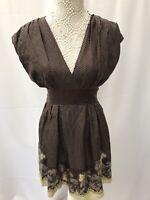 Ted Baker Size 3 Dress 12 Spots Floral G