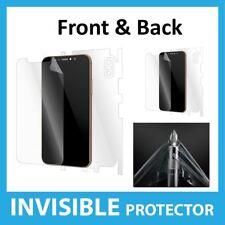 Apple iPhone X SALVASCHERMO FRONTE E RETRO COPERTURA scudo invisibile della pelle
