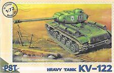 Soviet KV-122 Heavy Tank 1/72 Scale  PST 72009 (Free shipping)