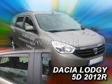 HEKO Windabweiser DACIA LODGY 5 türer ab 2012  4teilig 13110