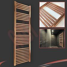 500mm(w) x 1600mm(h) Designer Straight Copper Heated Towel Rail (2761 BTUs)