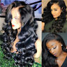 360 Lace Frontal Wig 100% Malaysian 9A Remy Human Hair Wigs Loose Wave off Black