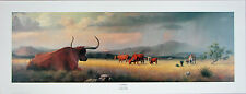 Windberg Contentment Texas Longhorn Limited Edition Signed Numbered Print #4
