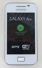 SAMSUNG Galaxy Ace GT-S5830i Android Teléfono inteligente Blanco Desbloqueado Pantalla Rota