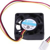 HXS 3 Pin 40mm 4cm 40x40x10mm PC CPU Heat-sink Cooler 12v Brushless Cooling Fan