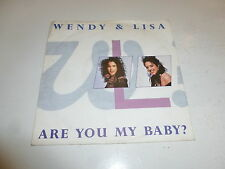 "WENDY & LISA - Are You My Baby? - 1989 UK 2-track 7"" Single"
