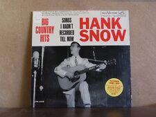 HANK SNOW SONGS I HADN'T RECORDED TILL NOW -LP LPM-2458