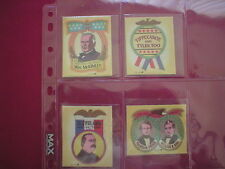 Silk Cloth stickers Wonder Bread 1970s President / political 1800s campaign