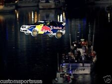 TRAVIS PASTRANA World Record Jump Red Bull Glossy NASCAR 8 x 10 Photo Poster