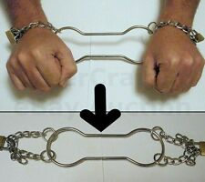 HANDCUFF ESCAPE STAGE ESCAPOLOGY HOUDINI MAGIC EFFECT TRICK PROP HAND CUFFS WOW