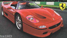 1997 FERRARI F50/f-50 SUPERCAR SPEC Hoja/FOLLETO/Folleto