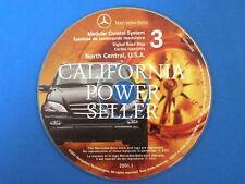 2001-1 MERCEDES BENZ ML GPS NAVIGATION CD 3 N. CENTRAL