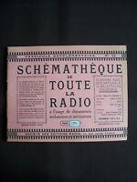 Schémathèque de toute la radio - N°12 1945