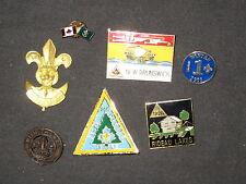 International Scout Pin Lot, 7 pins    c37