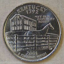 2001-D Uncirculated Kentucky Statehood Quarter - Single