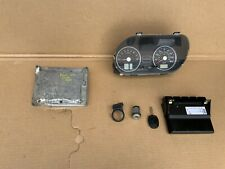 FORD FIESTA MK6 ST 150 2.0 ENGINE ECU SET + SPEEDO CLOCKS Pre Facelift