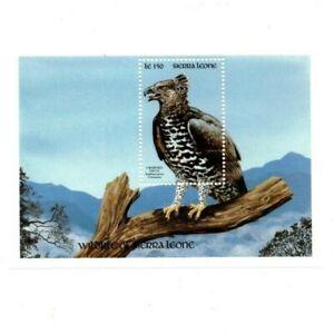 VINTAGE CLASSICS - Sierra Leone 1261-2 - Crowned Eagle - Souvenir Sheet -MNH